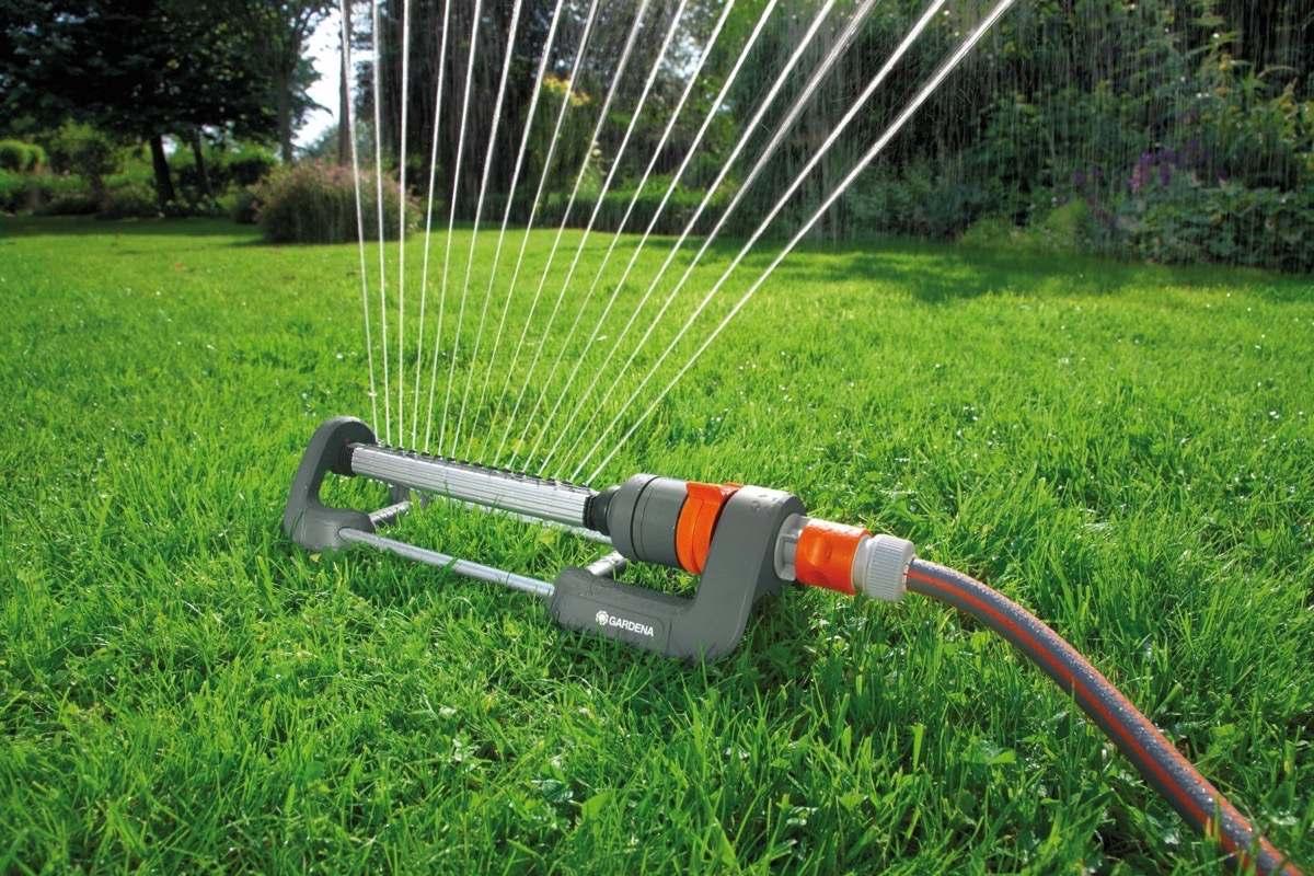 Поливалка распылитель для огорода