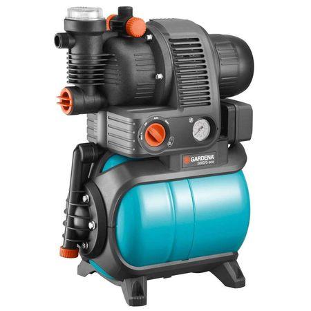 Станция бытового водоснабжения автоматическая 5000/5 Comfort Eco (фильтр, автоматический обратный клапан, защита от сухого хода, возможность регулировки давления отключения, тройной выход)