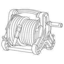 Катушка 10 Classic со шлангом (в комплекте: катушка для шланга, 10 м садового шланга Classic 1/2 (13 мм), наконечник для полива Classic, соединительные элементы)