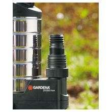 Насос дренажный для грязной воды 20000 inox Premium (диаметр частиц до 38 мм)