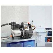 Насос напорный автоматический 6000/6E LCD inox Premium  (Новая упрощенная система диагностики и управления; более быстрое всасывание; использование с малым расходом воды; русифицированный дисплей; регулировка давления включения; защита от сухого хода)